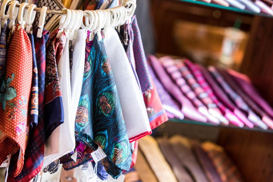 Furnishings & Accessories - handkerchief and ties