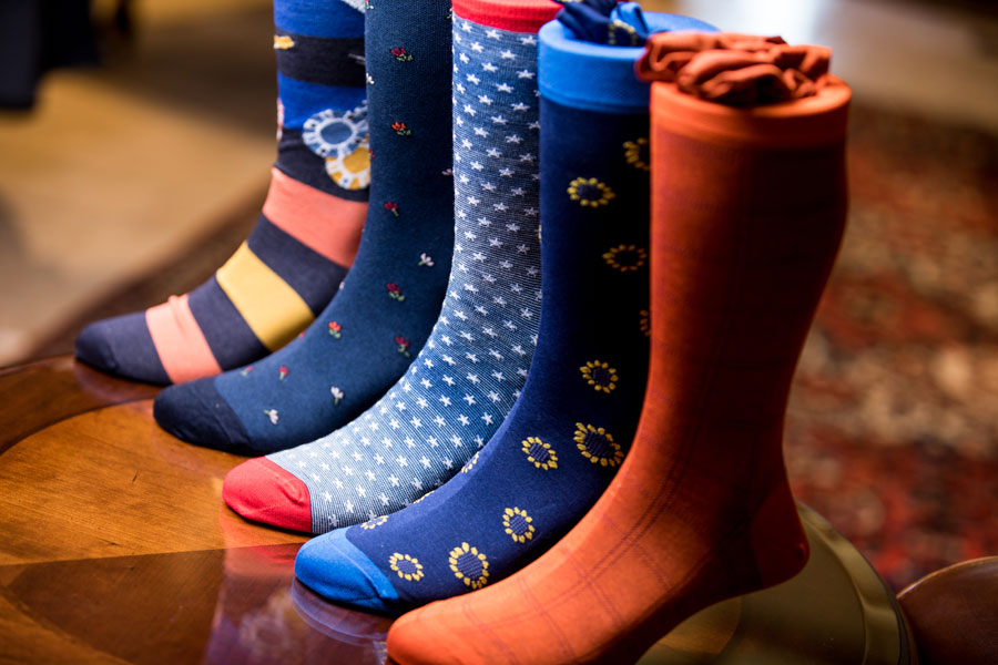 Furnishings & Accessories - different colored socks