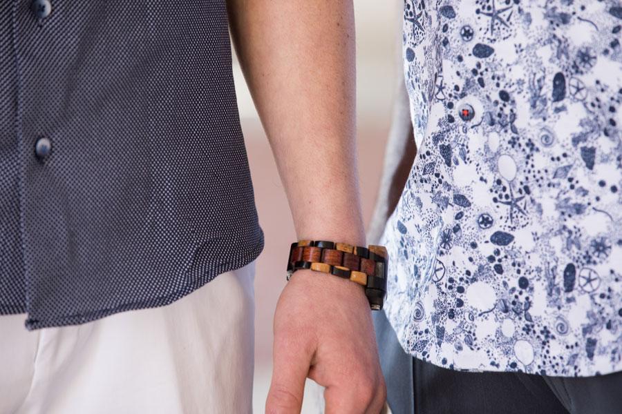 Sportswear & Outwear - man's watch detail