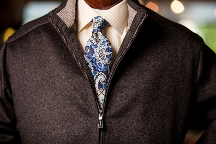 Sportswear & Outwear - jacket with tie detail