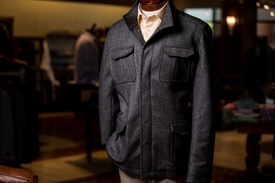 Sportswear & Outwear - man's coat