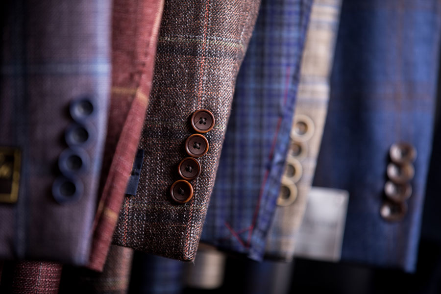 Tailored and Custom - sleeve detail
