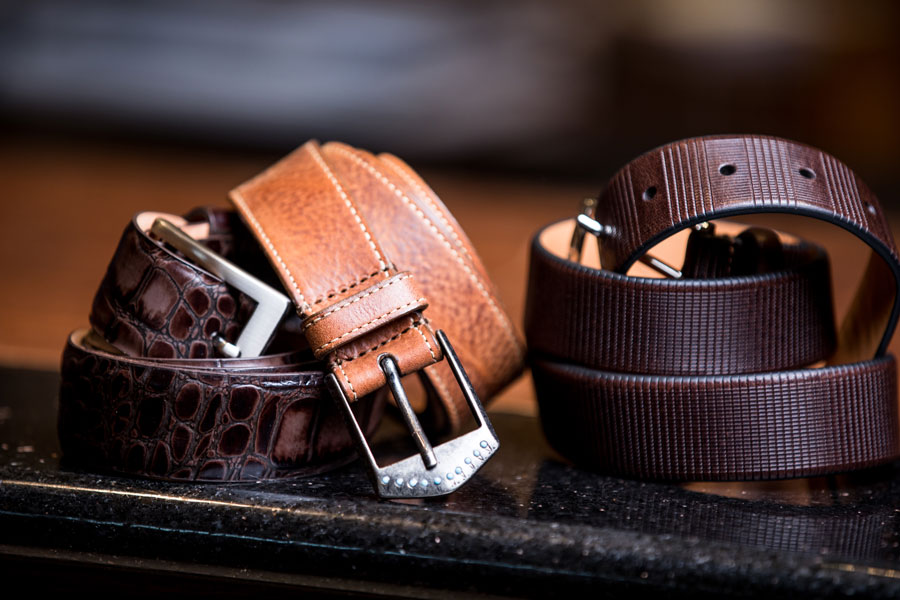 Shoes & Belts - colored belt