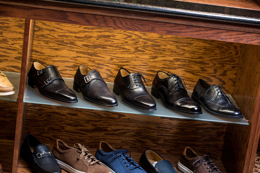 Shoes & Belts - shoes on the shelf