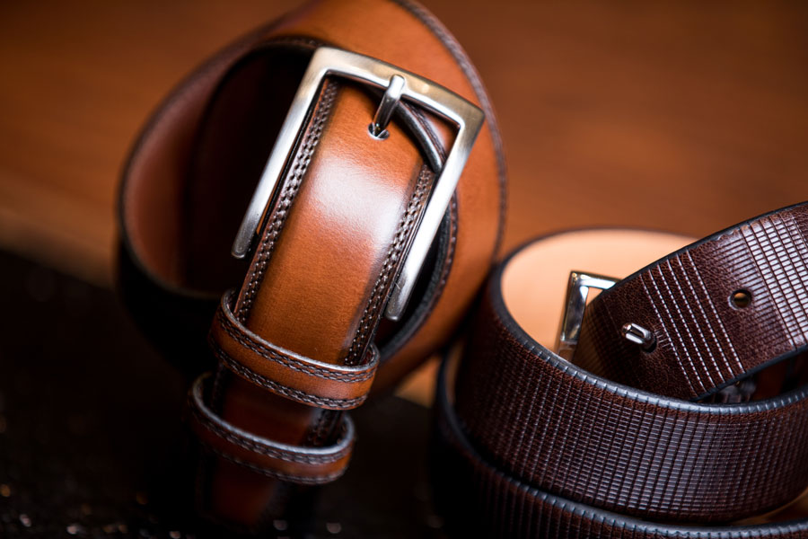 Shoes & Belts - belts black and brown