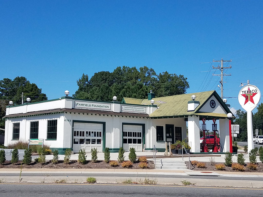 After photo of Texaco Building restored by Fairfield Foundation