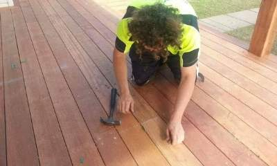 Lachlan Humphries - builder and owner of Macarthur Decks and Pergolas.