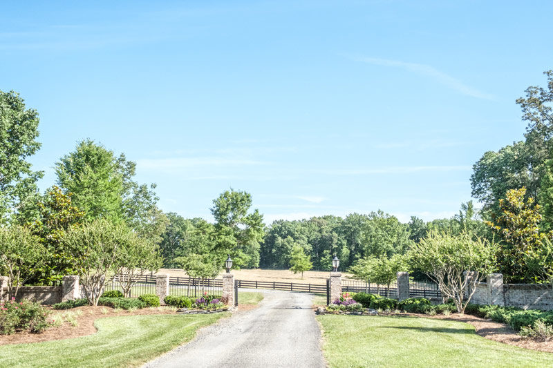 Wedding Barn & Grounds Front Gate
