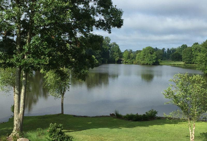 Wedding Barn & Grounds Lake