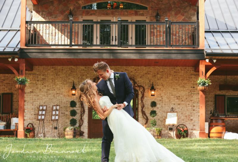 Stacy & Tad Salpoas Wedding Photographs