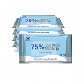 Alcohol Anti Bacterial Wipes
