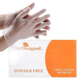 Chef Designed Vinyl Food Service Gloves