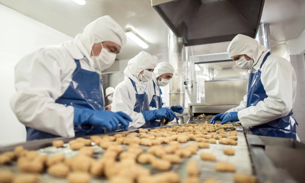 Hygiene best practices for food processing workers