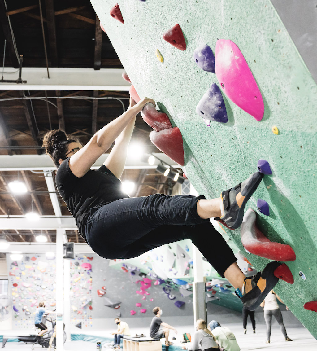 Intro to Bouldering- Marisel