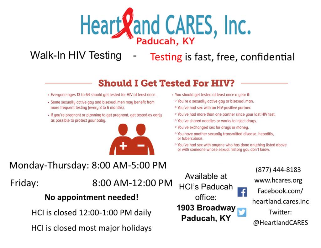 Free Anonymous HIV Testing
