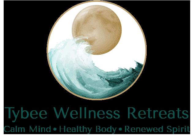 Tybee Wellness Logo with tag line Calm Mind. Healthy Body. Renewed Spirit