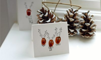 20 DIY Christmas Cards – Add Some Personal Touch to the Greetings for your Loved Ones