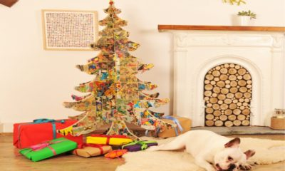 25 Unique and Unconventional DIY Christmas Tree Ideas