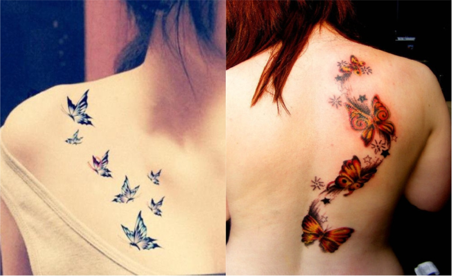 New Butterfly tattoos 2018