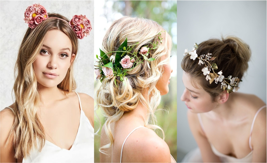 Amazing Floral hair accessories for holidays 2018 Feture