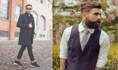 27 Best Men Hairstyle with Suits 2018