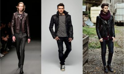 32 Men's Leather Jackets for Winter 2018