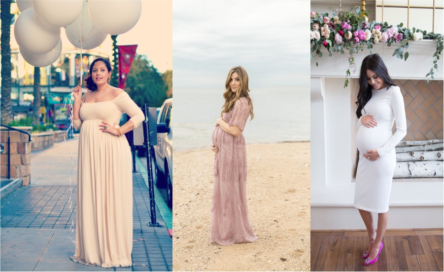Beautiful Maternity Dresses For Baby Shower feture