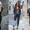 New Trendy Black Jeans Outfits Ideas For Women feture