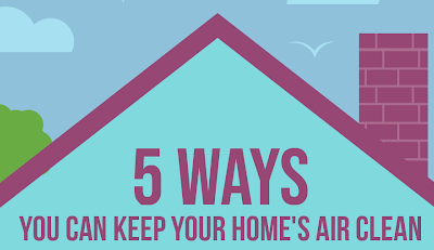 Ways to Keep your Home's Air Fresh