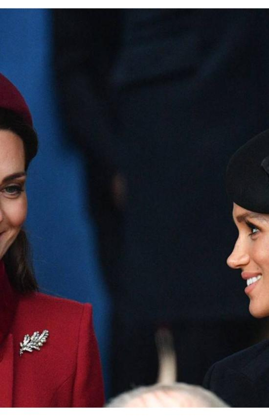 Kate Middleton and Meghan Markle Together for Christmas with the Royal Family