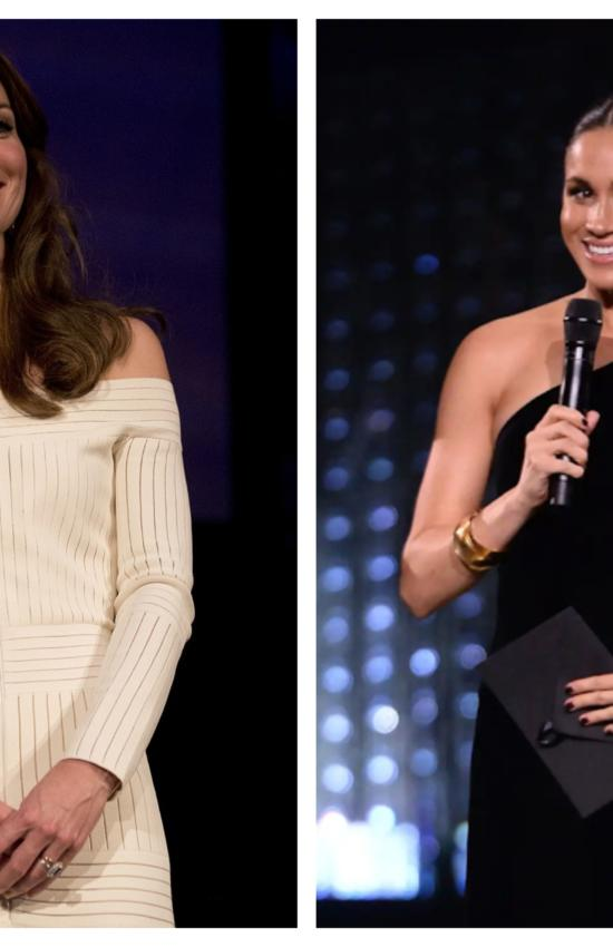 6 Holiday Dress Looks Inspired by Meghan Markle and Kate Middleton