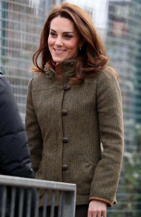 The Duchess of Cambridge in Dubarry for Community Garden Visit