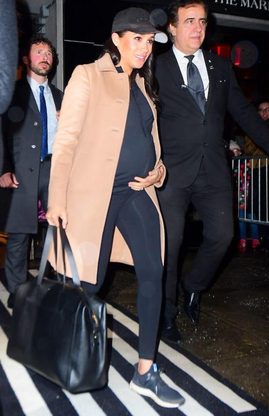 The Duchess of Sussex leaves NYC Back to London after Baby Shower
