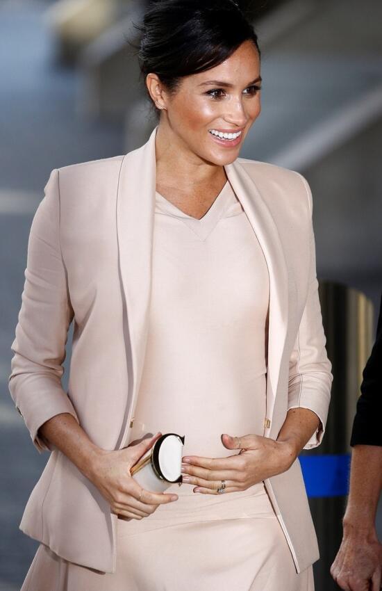 4 Times Duchess Meghan Markle Felt Baby Sussex Kick
