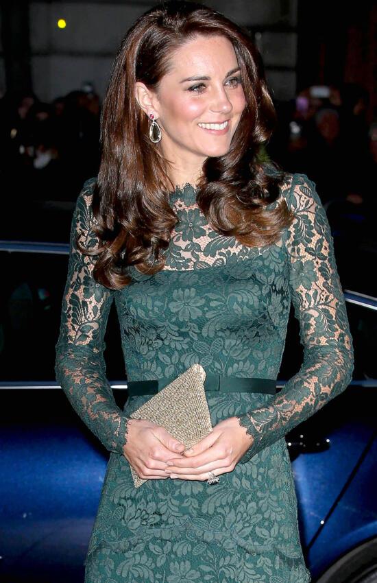 Kate Middleton's 9 Best Lace Dress Moments
