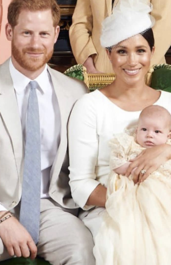 Baby Archie is Christened at Windsor Castle