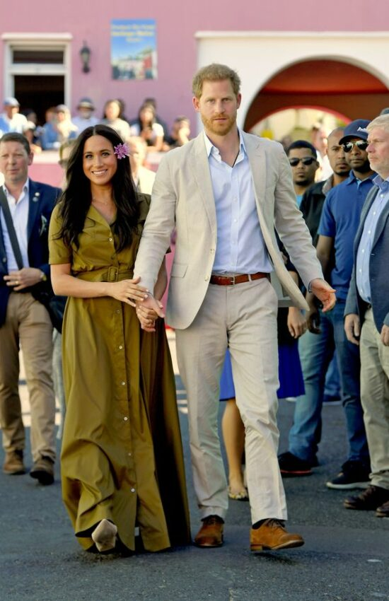 Meghan Markle Wears Repeat Jean Jacket and Maxi Dress for Day 2 of Royal Tour of South Africa