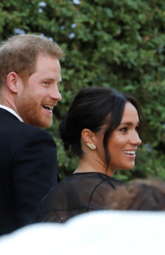 Meghan Markle Wears Valentino Puff Sleeve Dress at Wedding in Rome