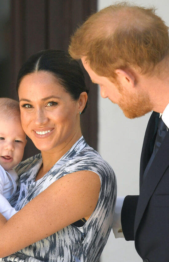 Baby Archie Harrison Makes His Royal Tour Debut