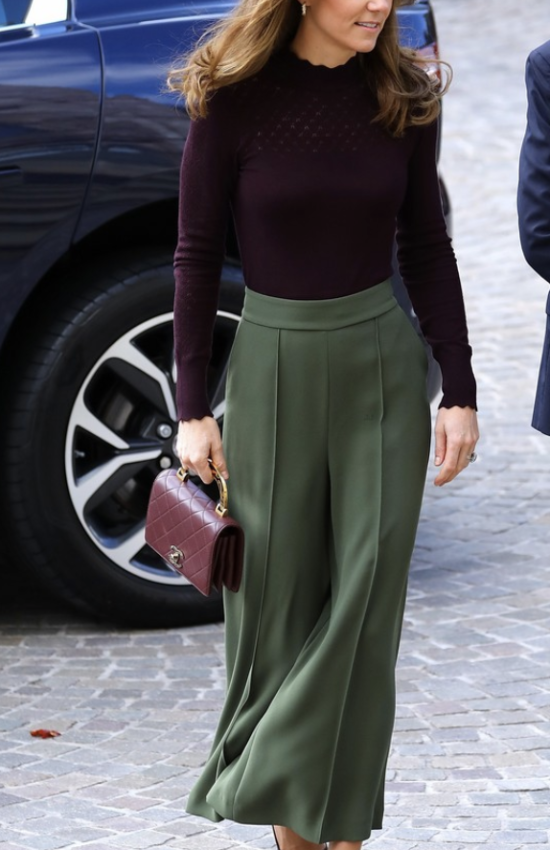 Kate Middleton Looks Autumn Ready for Visit to Natural History Museum