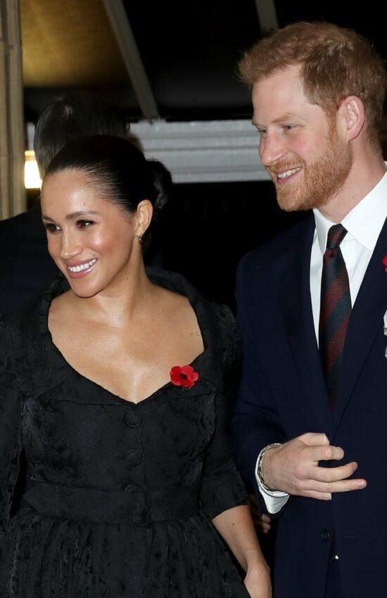 Duchess of Sussex and Duchess of Cambridge Attend Festival of Remembrance 2019