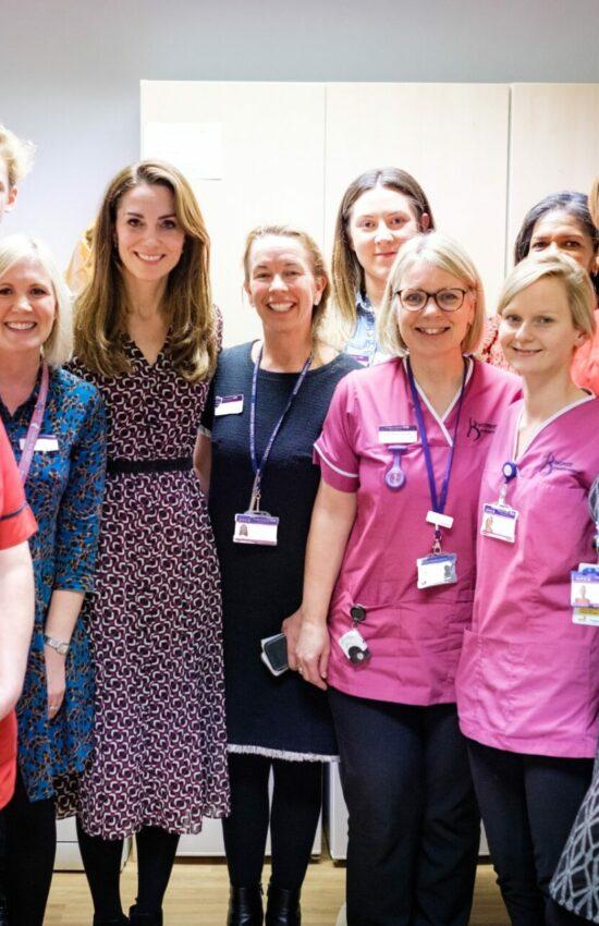 Duchess of Cambridge in Michael Kors for Maternity Ward Visit
