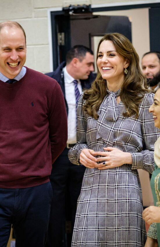 Duchess of Cambridge in Zara Dress for Visit to Bradford