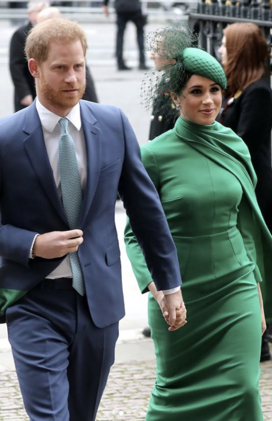 Meghan Markle in Green Emilia Wickstead for Commonwealth Day Service