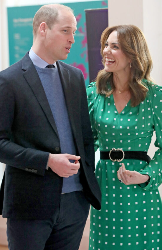 Duchess Kate Wears Green and Orange for Final Tour Day in Ireland