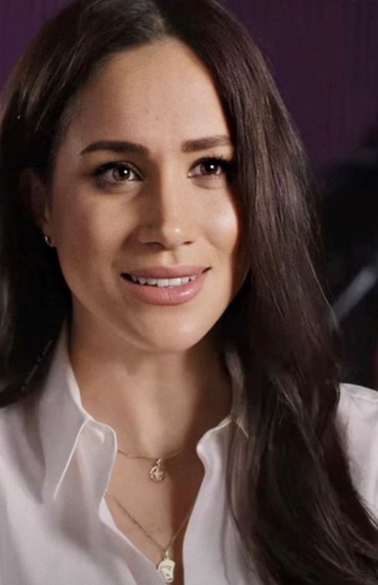 Meghan Markle in Astrology Accessories on Good Morning America