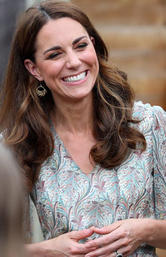 Kate Middleton's Collection of Leaf Earrings is Surprisingly Large