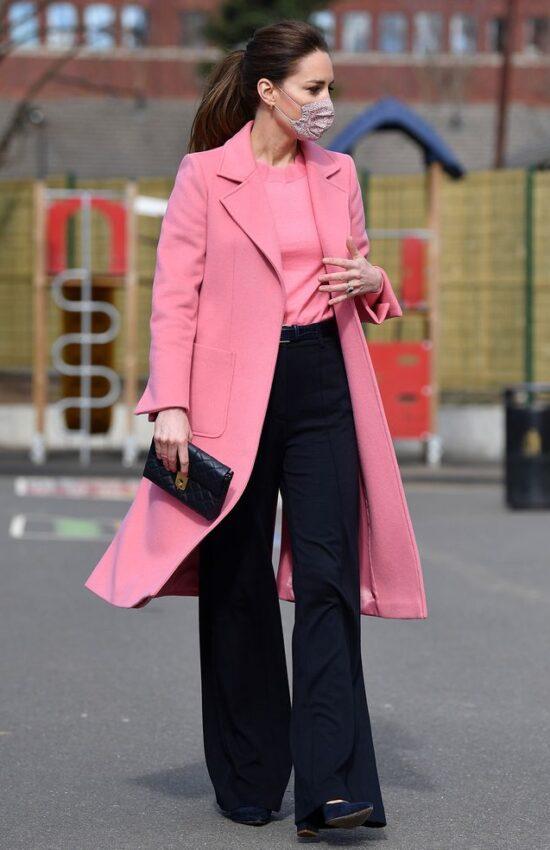 Recreate Kate Middleton's Pretty Springtime Coat Look for Less