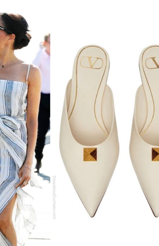 Meghan Markle's Valentino Sandals are Serious Summer Shoe Inspo