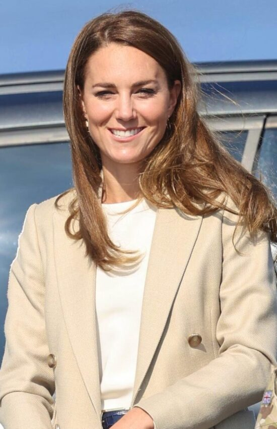 Kate Middleton Returns to Work After Summer Break for an Engagement at a Royal Air Force Base